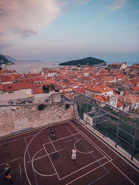 cancha de baloncesto 3x3