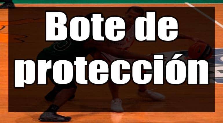 bote de protección baloncesto