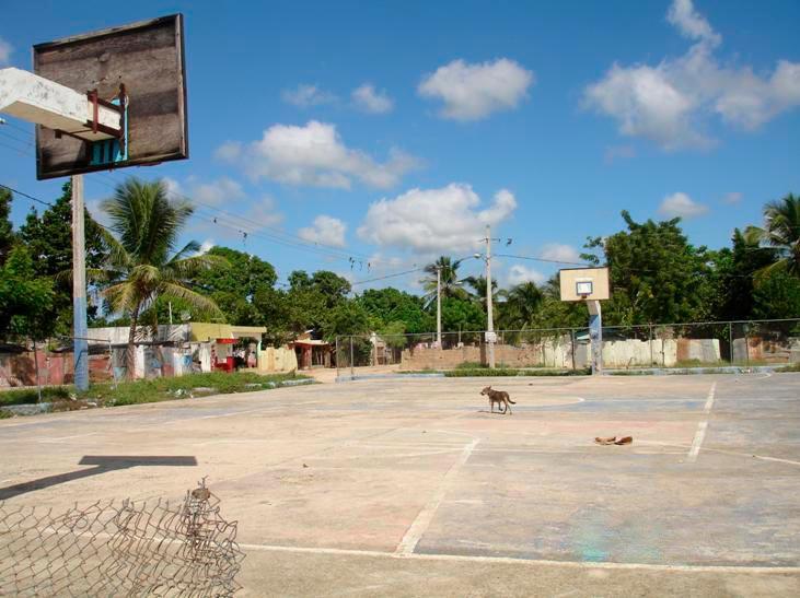 cancha baloncesto en republica dominicana