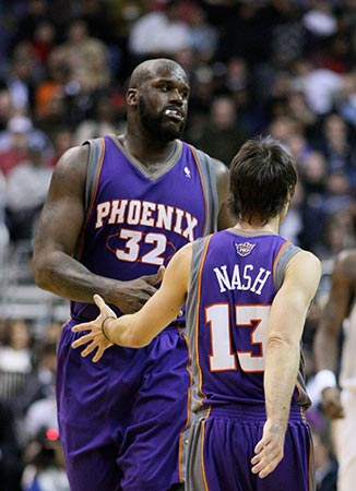 shaquille oneal pivot nba